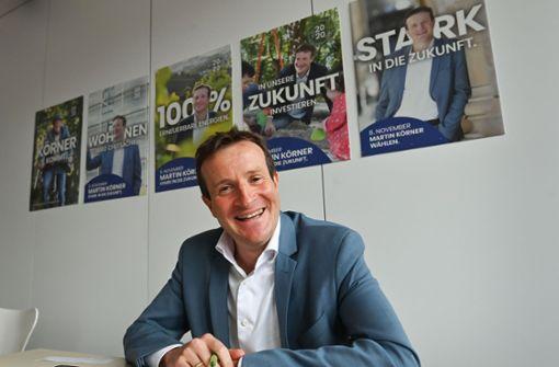 OB-Kandidat Körner will 30000 Wohnungen bauen