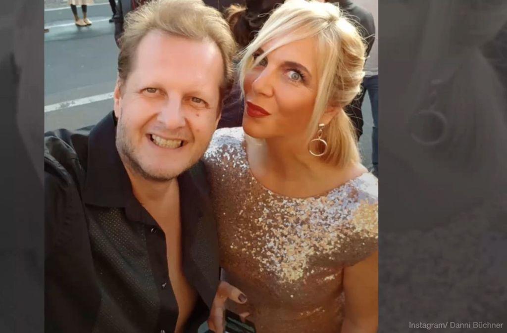 Danni Büchner und ihr verstorbener Mann Jens Büchner. Foto: Glomex