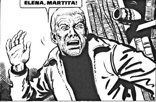 """Juan Salvo verliert im  argentinischen Comic-Klassiker """"Eternauta"""" bei einer Alien-Invasion seine Familie. Später nahmen Leser das als Bild für die Schrecken der Diktatur. Foto: Avant"""