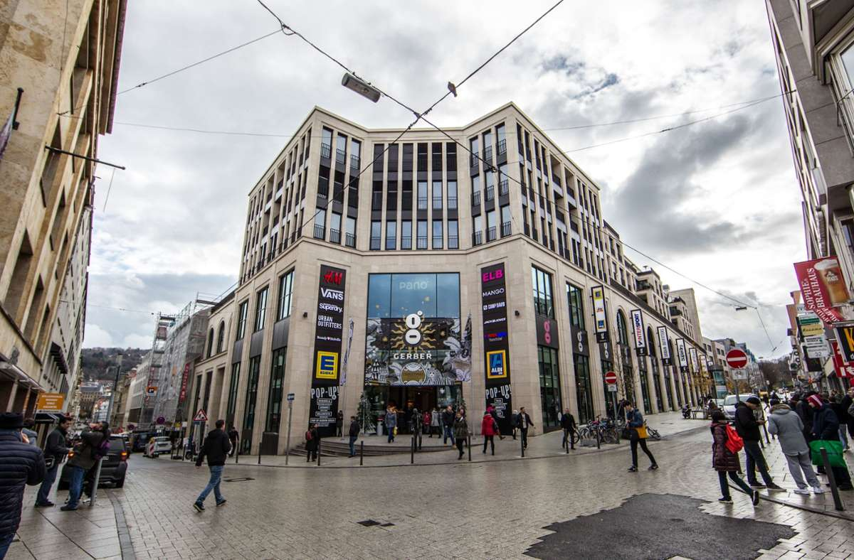 Die Angeklagten sollen als Adresse für die Drogen das Einkaufscenter Gerber angeben haben. Foto: Lichtgut/Leif Piechowski