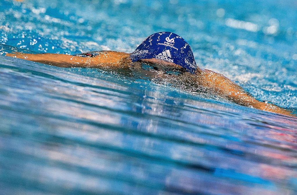 Vanessa Grimberg hat sich richtig entschieden und schwimmt bei den deutschen Meisterschaften Bestzeit. Foto: dpa