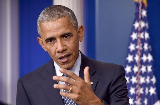 Obama wirbt für Geduld mit Donald Trump
