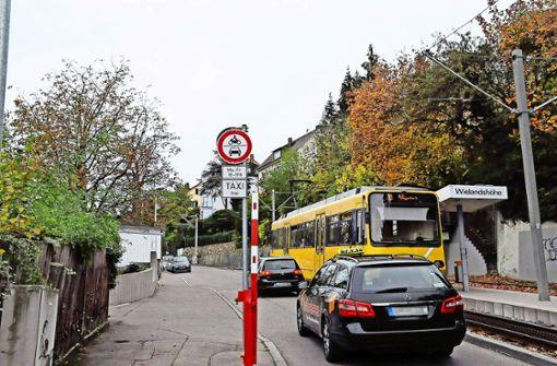 Zu viele Autofahrer ignorieren das Durchfahr-Verbot