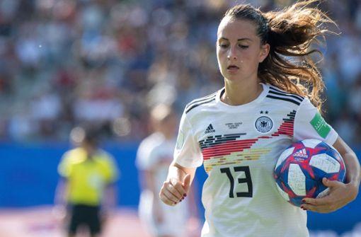DFB-Frauen feiern Kantersieg gegen Ukraine