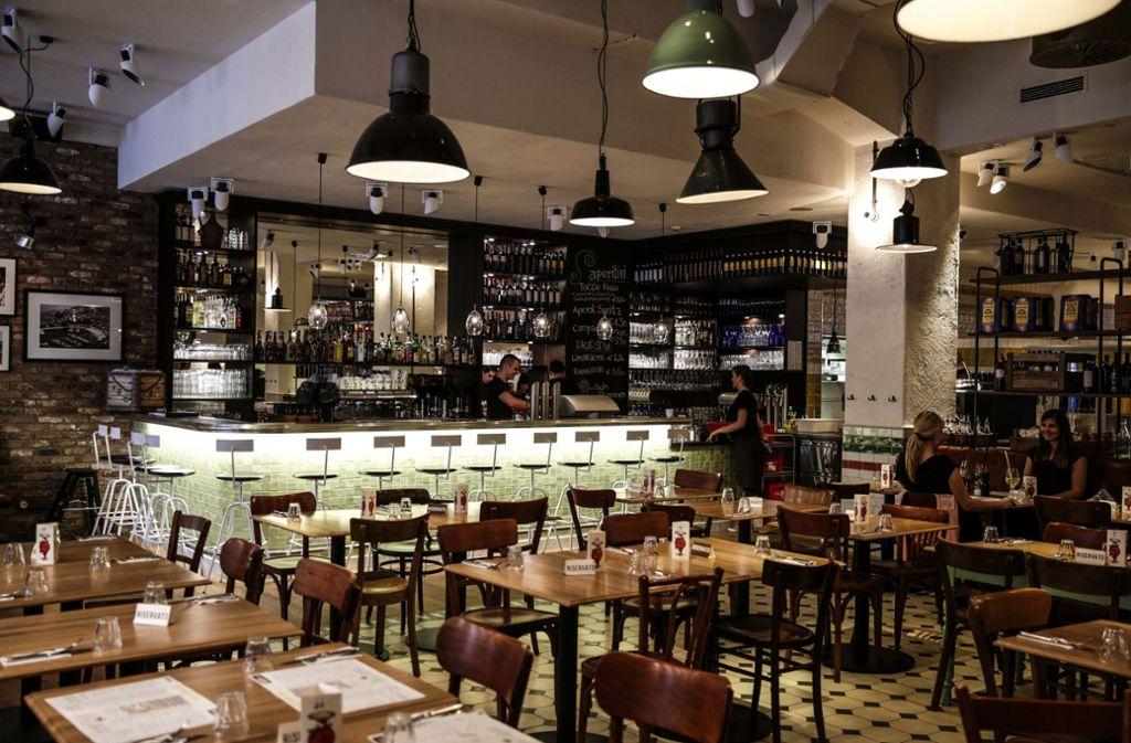Das Tialini ist laut Falstaff die beliebteste Pizzeria in  Stuttgart. Foto: PPFotodesign//Leif Piechowski
