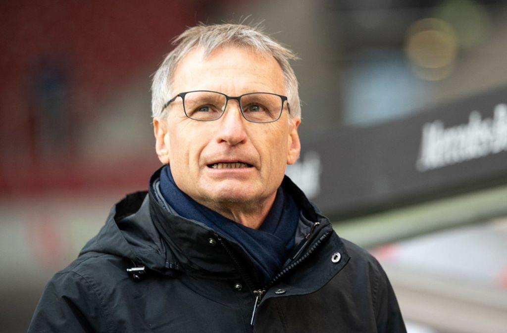 Beim VfB Stuttgart im Februar freigestellt, ab Juni beim FC Schalke 04: Michael Reschke. Foto: dpa