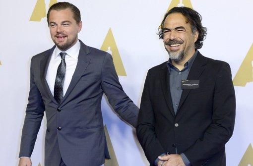 Film-Stars geben sich ein Stelldichein