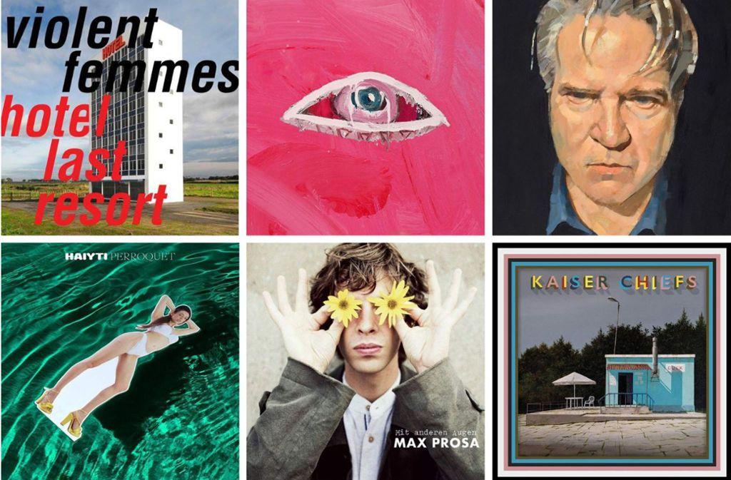Neue Alben am 26. Juli gibt zum Beispiel von Violent Femmes, Of Monsters and Men, Lloyd Cole, den Kaiser Chiefs, Max Prosa und Haiyti. Mehr zu diesen und weiteren Platten erfahren Sie in unserer Bildergalerie. Foto: Label