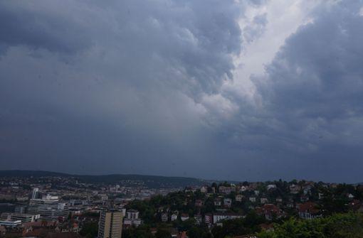 Schwere Gewitter mit Hagel in Stuttgart möglich