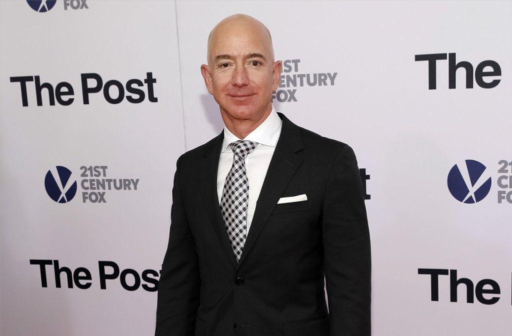 Das Telefon von Jeff Bezos könnte nach Einschätzung von UN-Experten gehackt worden sein. Foto: AP/Brent N. Clarke