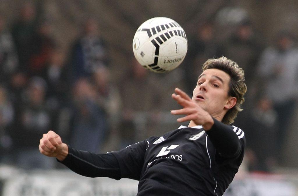 Früher unter anderem für die Amateure des VfB Stuttgart und die SV Elversberg am Ball: Felix Luz. Foto: Baumann