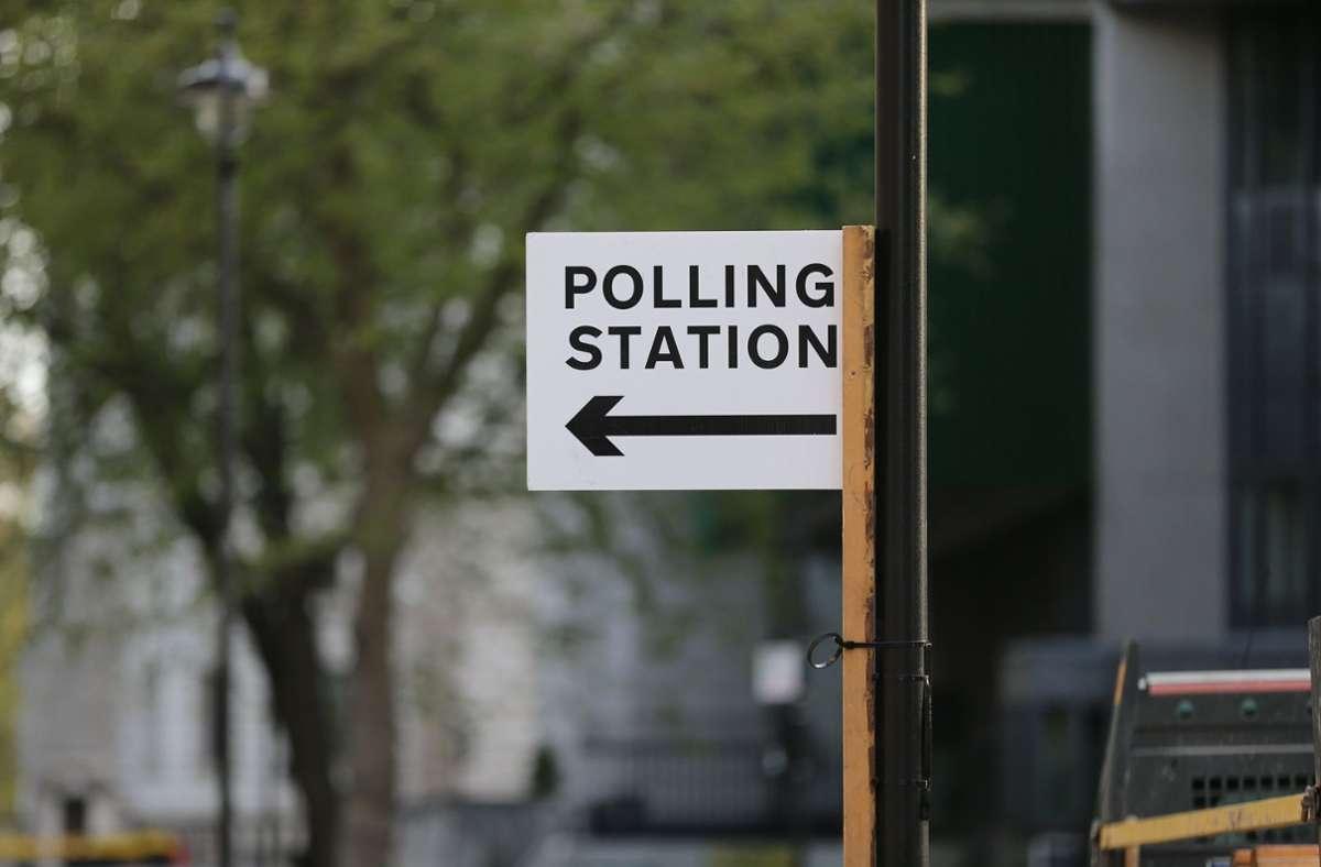 """Großbritannien erlebt einen """"Superwahltag"""". Foto: dpa/Tayfun Salci"""