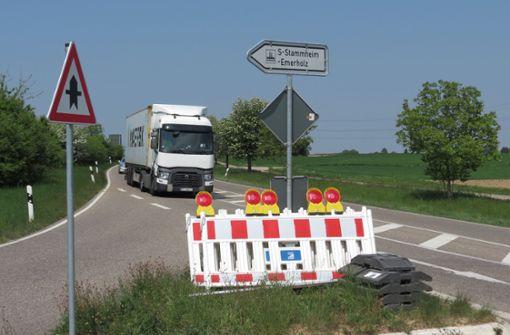 Landesstraße wird  wochenlang gesperrt