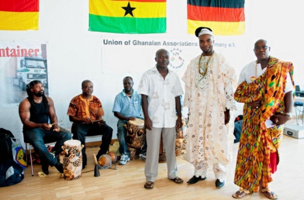 Die Ghana Union ist Dachverband von acht ghanaischen Vereinen in Stuttgart. Foto: Horst Rudel