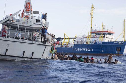 Der Kampf gegen das Sterben im Meer