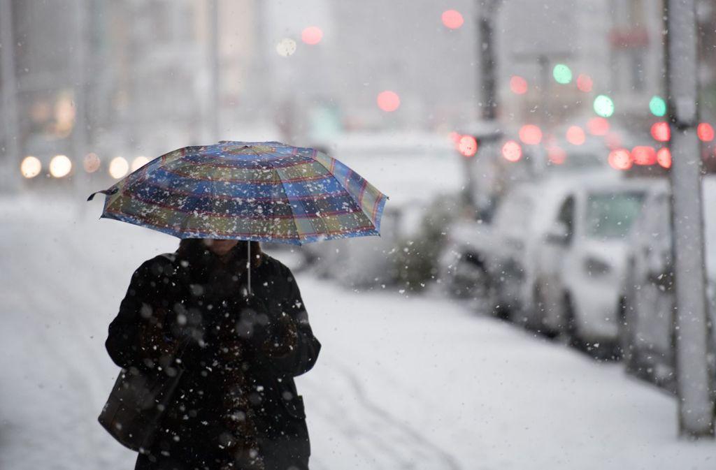 Über 400 Metern soll es am Wochenende schneien. Foto: dpa