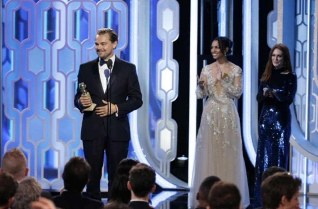 """Der Thriller """"The Revenant – Der Rückkehrer"""" hat drei Preise bei den Golden Globes eingeheimst, unter anderem den Preis für den besten Hauptdartsteller, der an Leonardo DiCaprio ging. Foto: NBC"""