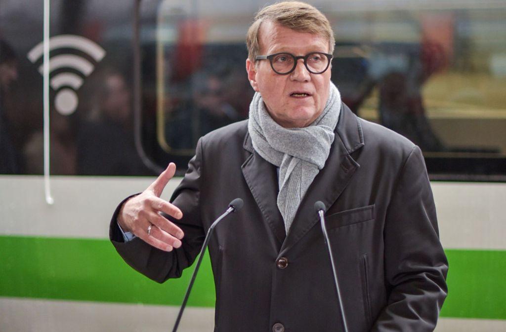 Der Bahn-Infrastrukturvorstand Ronald Pofalla ist für das Projekt Stuttgart 21 bei dem als AG organisierten Staatsbetrieb verantwortlich. Foto: Lichtgut/Max Kovalenko