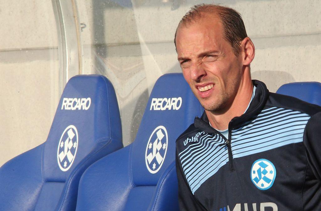 Oliver Barth wechselt von blau zu weiß-rot. Er wird Co-Trainer von Andreas Hinkel beim VfB II. Foto: Pressefoto Baumann