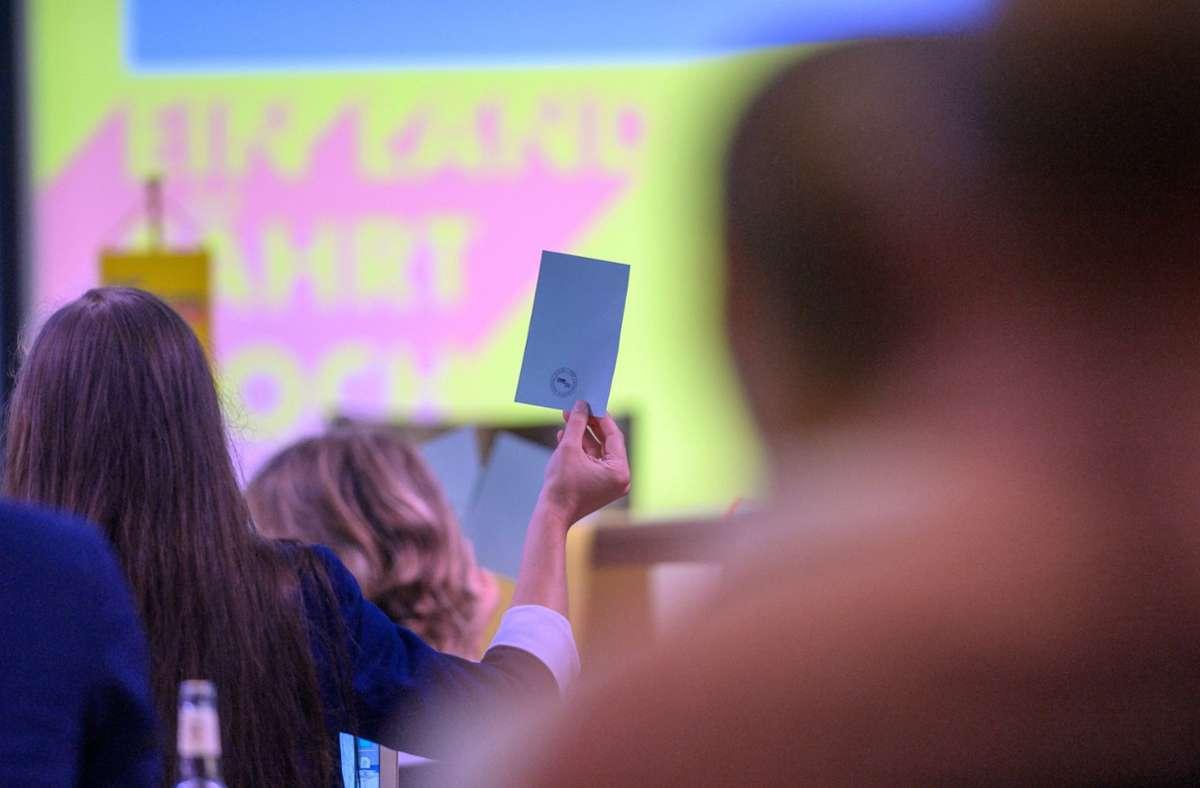 Die FDP hat auf dem Parteitag für die Koalition gestimmt. Foto: dpa/Klaus-Dietmar Gabbert