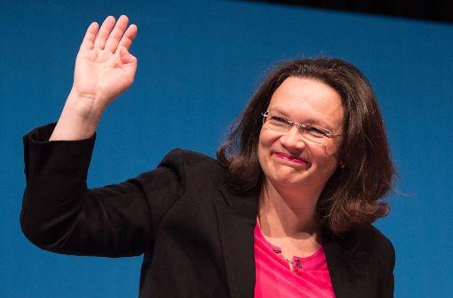Nahles bekräftigt SPD-Absage an Regierungsbeteiligung