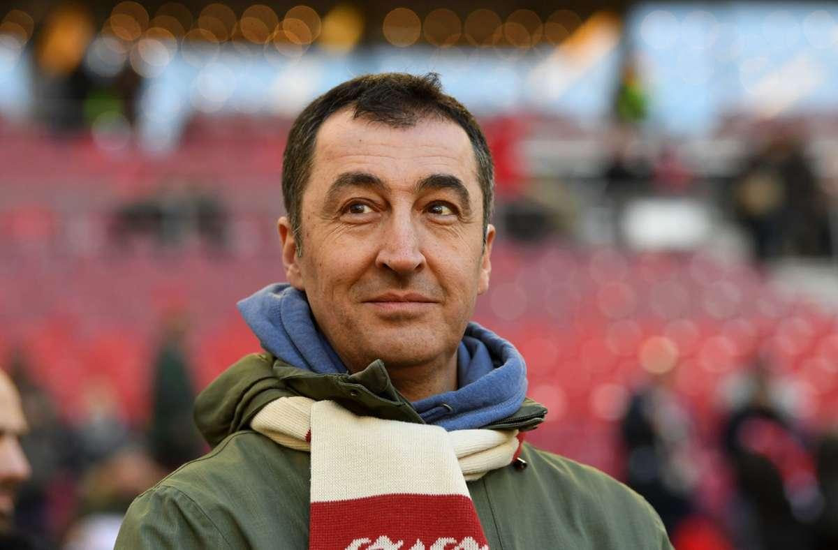 Cem Özdemir ist bekennender Fan des VfB Stuttgart. Foto: dpa/Marijan Murat