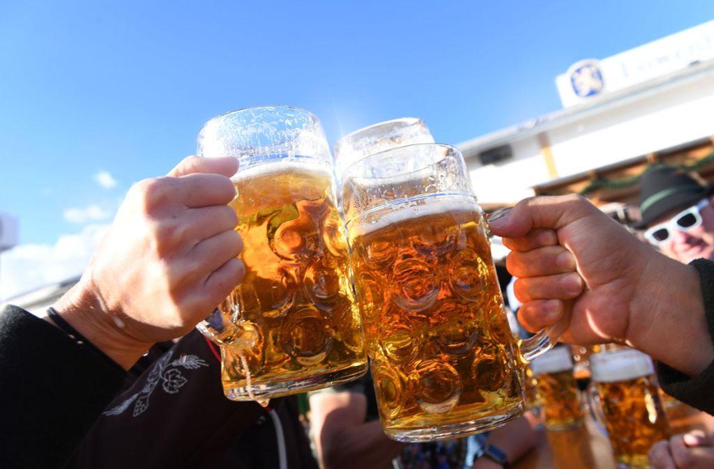 Die deutschen Brauereien haben mit rund 94 Millionen Hektolitern mehr Bier verkauft als im Jahr zuvor. Foto: dpa
