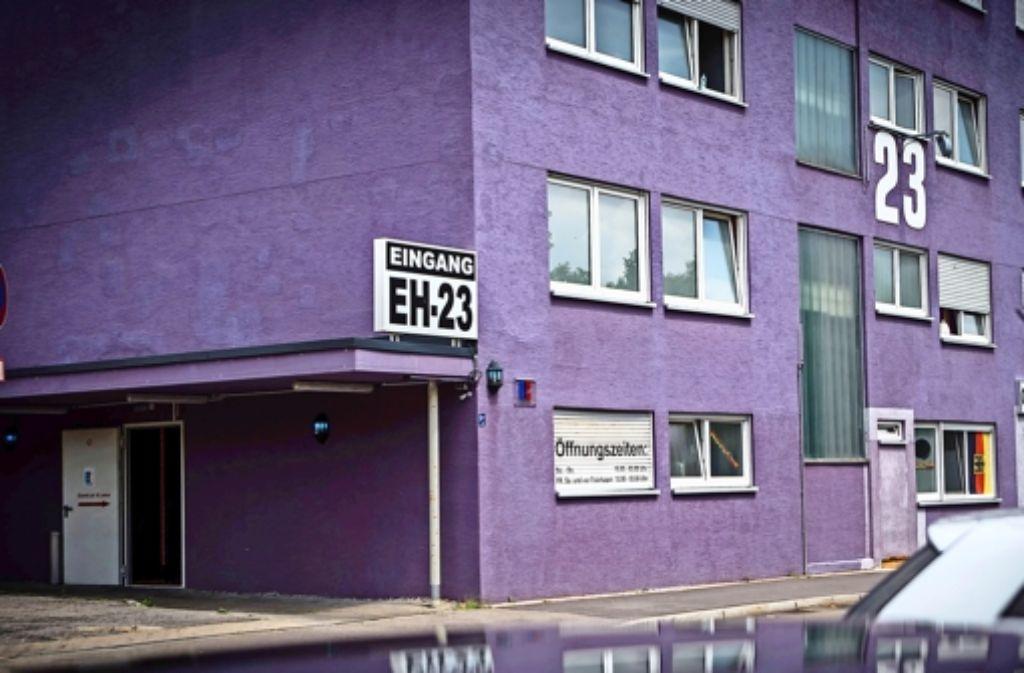 Das Eros-House 23 in Waiblingen ist eines von vier Bordellen in der Region, in denen  die 15-jährige  Mirella B.  angeboten wurde. Foto: Achim Zweygarth