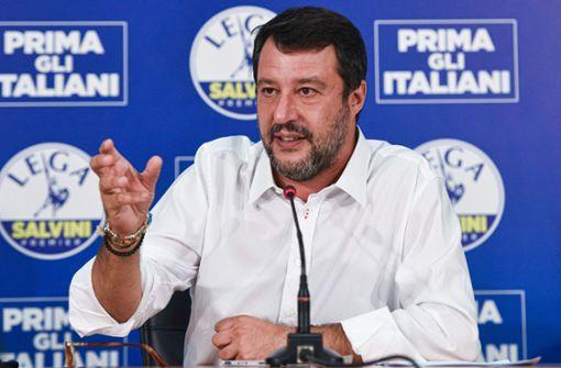 Eine Ohrfeige für  Salvini