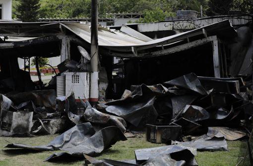 Fußballtalente sterben in Feuerhölle auf Trainingsgelände