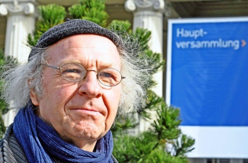 Der Umweltaktivist Harry Block sieht seine politische Heimat beim BUND. Foto: Jehle