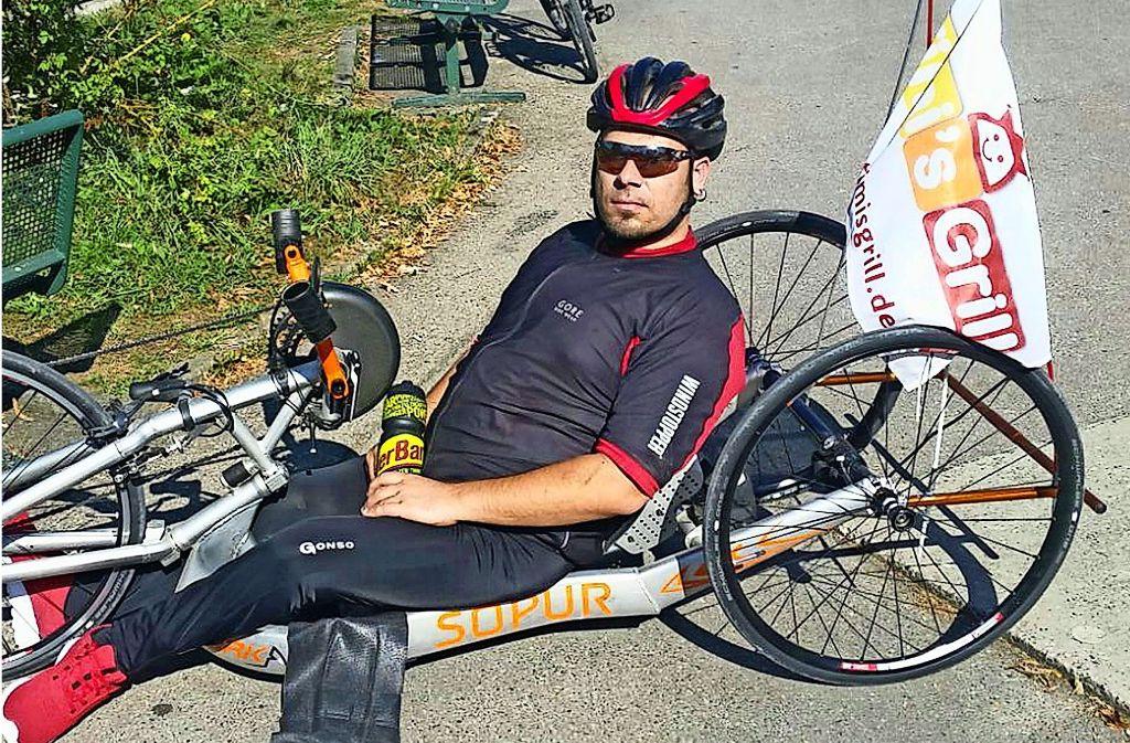 Ivo Josipovic möchte eine Handbike-Gruppe im RSV Vaihingen initiieren und sucht Interessierte zum gemeinsamen Sporteln. Foto: privat