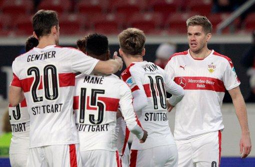 Terodde führt den VfB Stuttgart zum Sieg