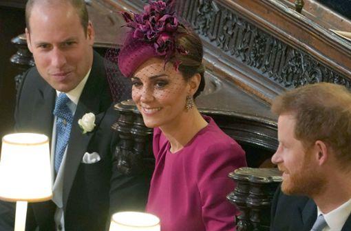 Königlicher Fauxpas bei der Hochzeit von Prinzessin Eugenie
