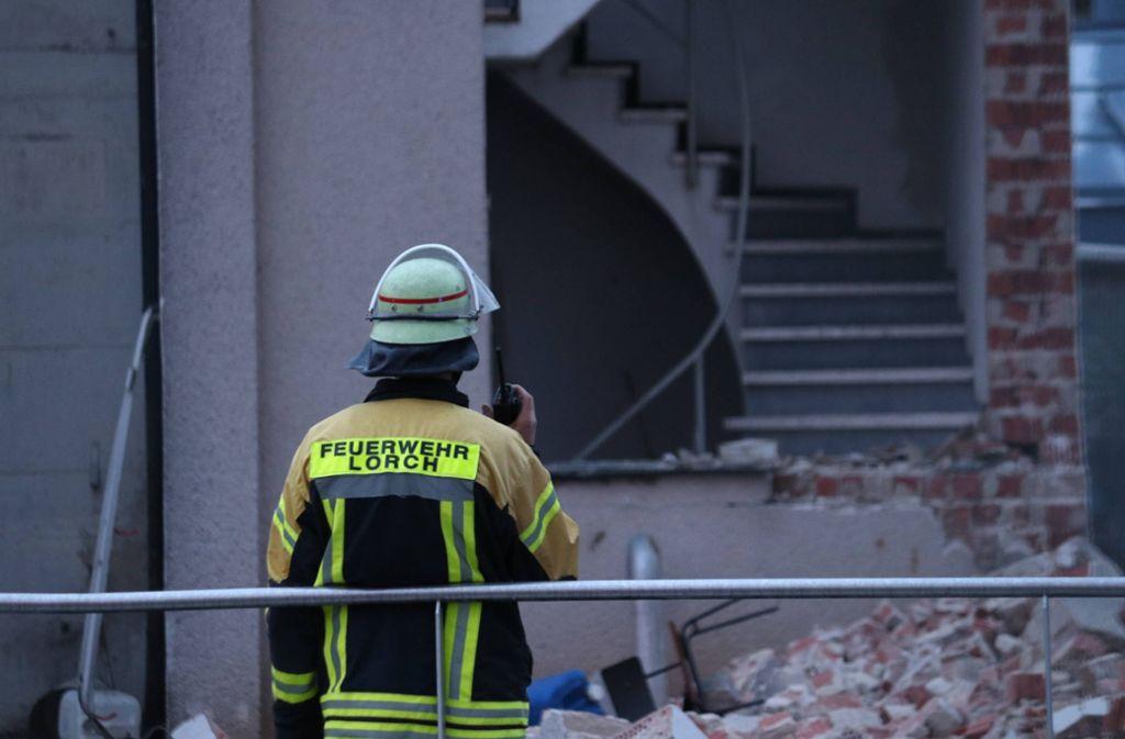 Die Feuerwehr in Lorch wurde zu einer Explosion in einem Klärwerk gerufen. Foto: 7aktuell.de/Kevin Lermer