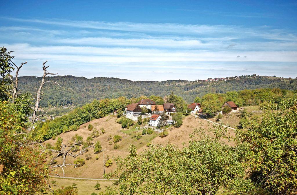 Oberhalb von Rudersberg liegt Burg Waldenstein – sie steht derzeit zum Verkauf. Foto: Gottfried Stoppel