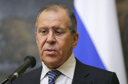 Russland weist 60 US-Diplomaten aus