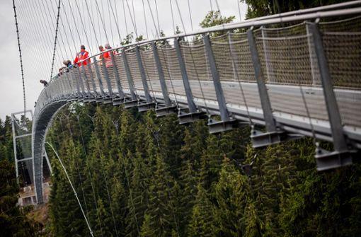 Diese neue Brücke ist nichts für schwache Nerven