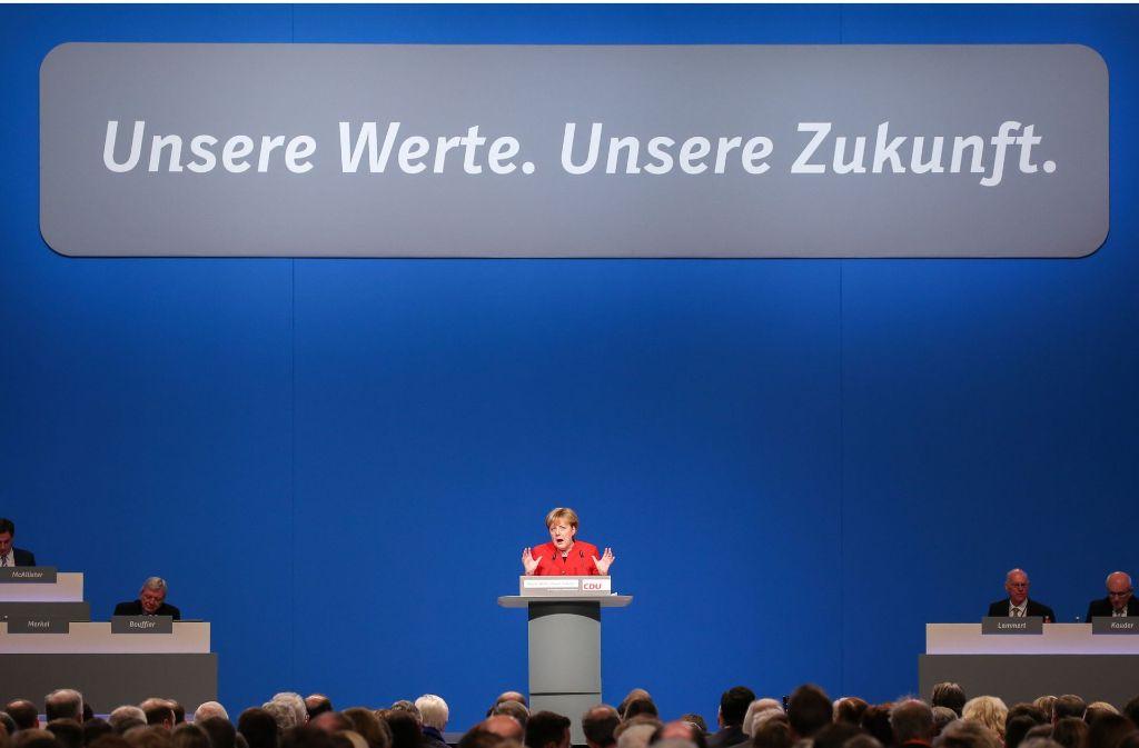 """Der Satz: """"Die Sprache der Bundesrepublik Deutschland ist Deutsch"""" soll laut CDU ins Grundgesetz. Foto: dpa"""