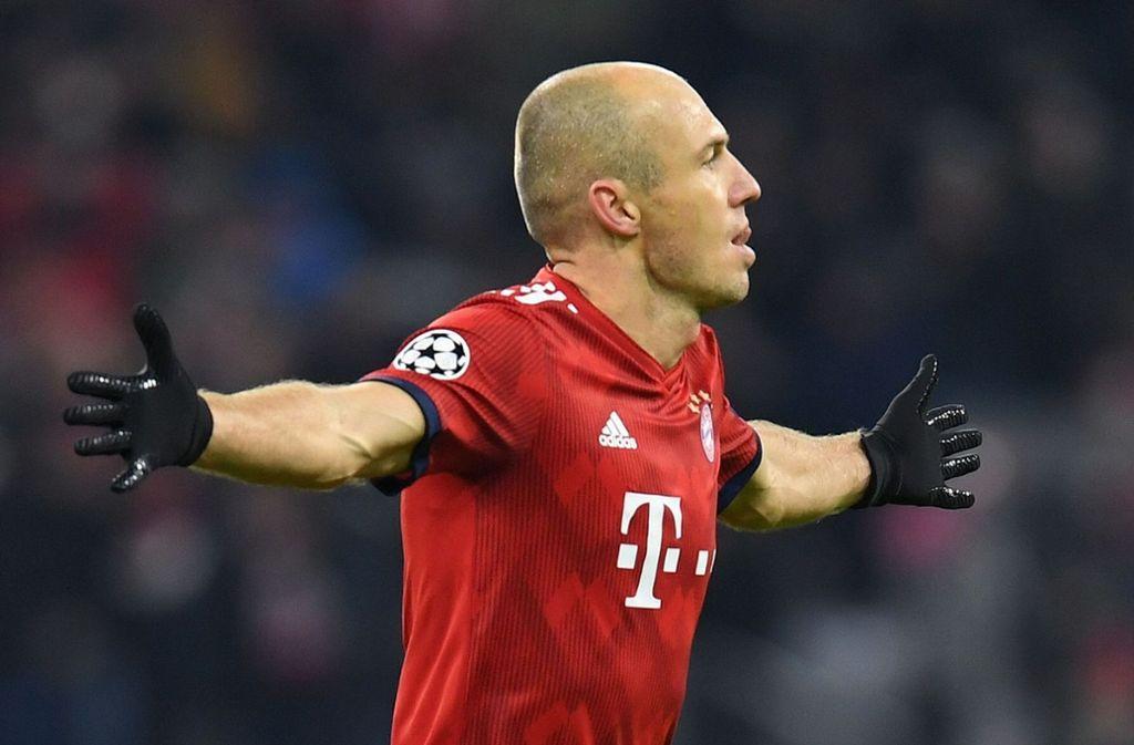 Arjen Robben steht für Erfolg beim FC Bayern München. Foto: AFP