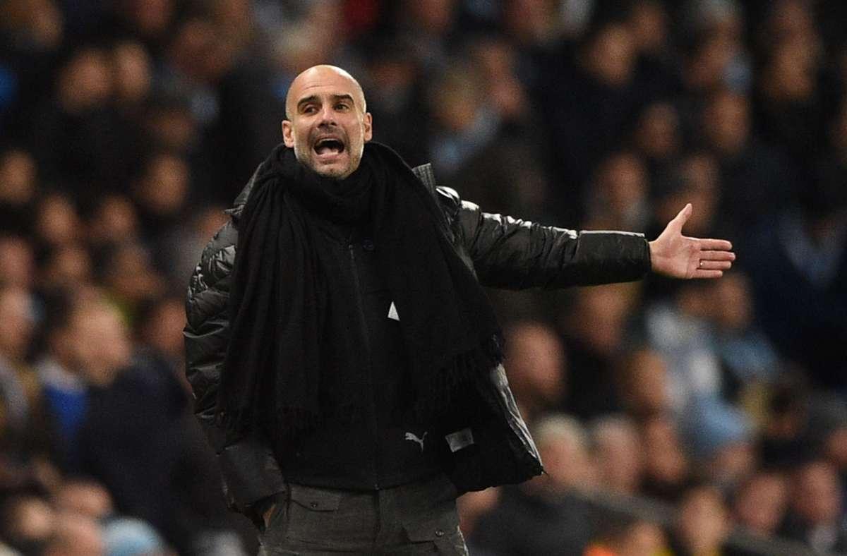 Im Sommer 2016 hatte Pep Guardiola den Job bei Manchester City übernommen. (Archivbild) Foto: AFP/OLI SCARFF
