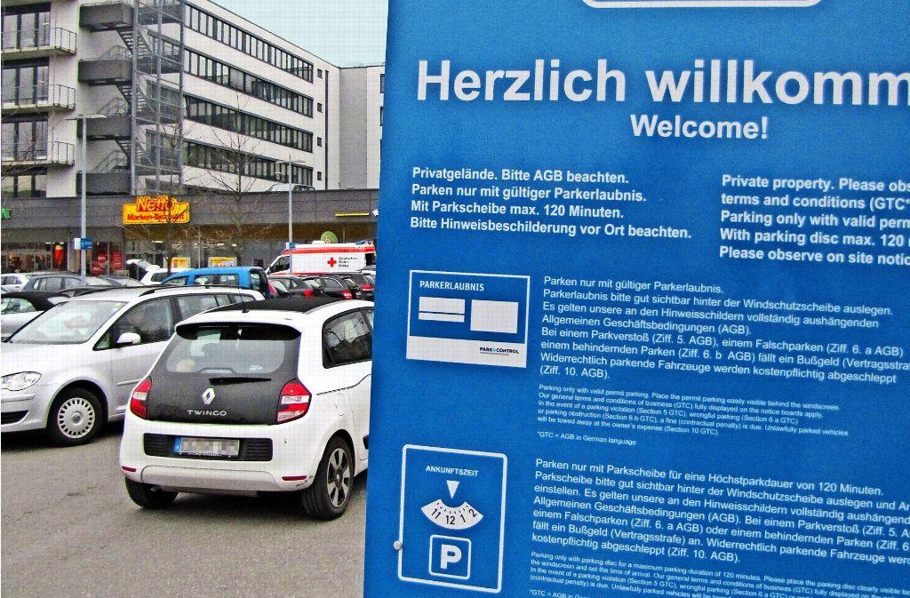 Wer an der Ulmer Straße parkt, geht automatisch einen Vertrag ein. Foto: