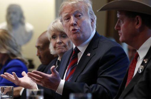 Zeitung berichtet über FBI-Ermittlungen gegen Trump