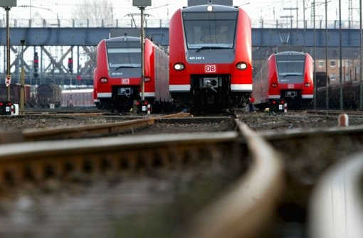 Nahverkehrszüge der Deutschen Bahn. Foto: dpa