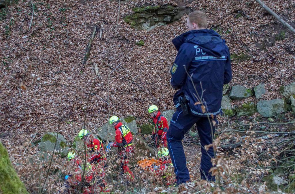 Die Polizei hatte eine groß angelegte Suchaktion gestartet. Foto: 7aktuell.de/Andreas Werner