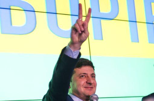 Ukrainer suchen den  Messias