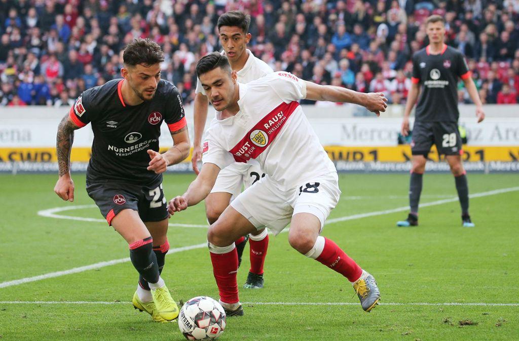 Mal wieder waren Benjamin Pavard, Marc Oliver Kempf und Ozan Kabak die besten Feldspieler bei den Stuttgartern. Foto: Pressefoto Baumann