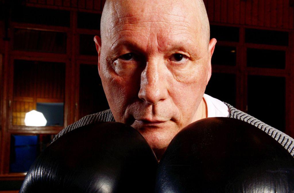 Uwe Hück will gegen Mike Tyson in den Ring. Foto: dpa/Bernd Weissbrod