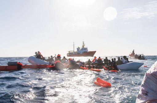 """""""Aquarius"""" wird keine geretteten Migranten nach Libyen zurückbringen"""
