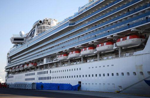 60 weitere Fälle auf Kreuzfahrtschiff festgestellt